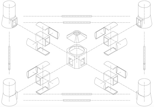 illustration construction modulaire